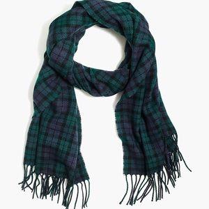 Men's J CREW plaid scarf